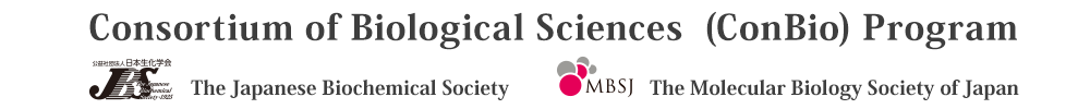 The Japanese Biochemical Society/The Molecular Biology Society of Japan