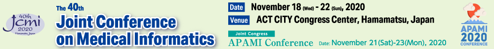 The 40th Joint Conference on Medical Informatics / APAMI2020