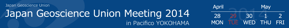 Japan Geoscience Union Meeting 2014