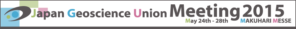 Japan Geoscience Union Meeting 2015