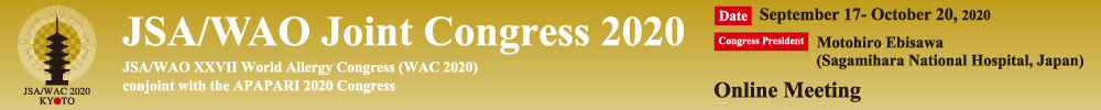 JSA/WAO Joint Congress 2020