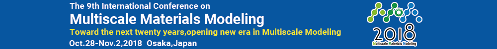 The 9th International Conference on Multiscale Materials Modeling