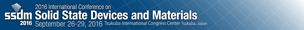 2016 International Conference on Solid State Devices and Materials
