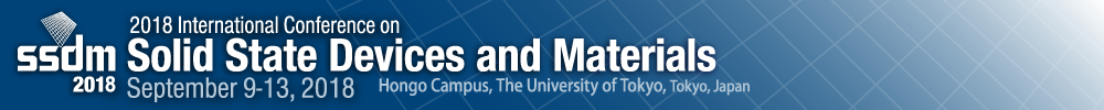 2018 International Conference on Solid State Devices and Materials