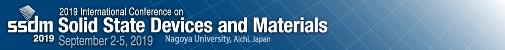 2019 International Conference on Solid State Devices and Materials